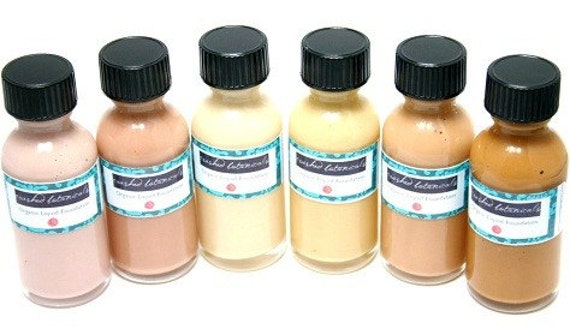 makeup organic. Fair Liquid Foundation-Mineral makeup organic. From CrushedBotanicals
