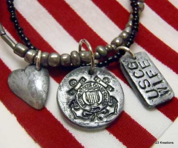 Coast Guard Wife Necklace