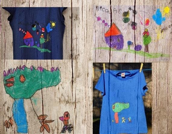 Wear your  Child Artwork Tshirt