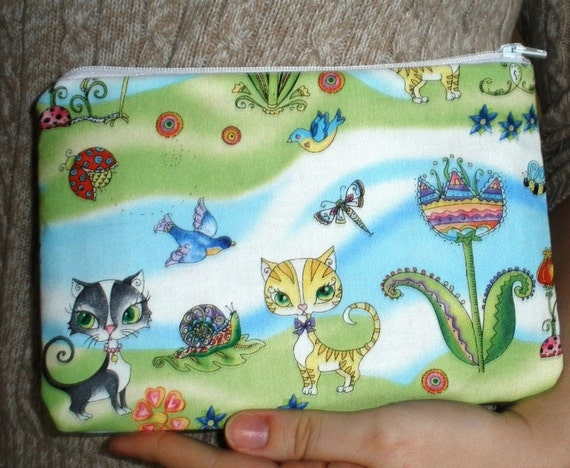 Insects and Animals Pouch