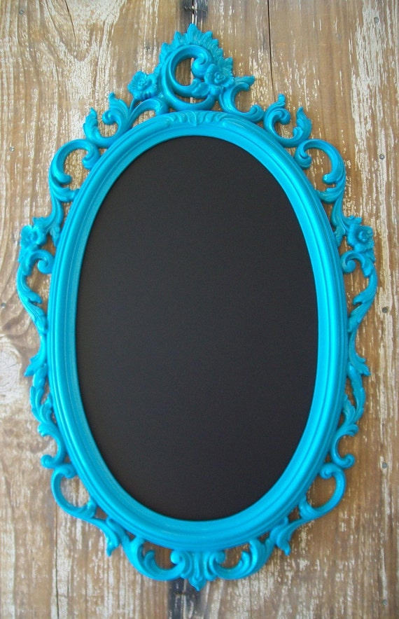 U Choose Color/Finish-Tres Chic Ornate Vintage Frame Chalkboard & Vintage Wall Mirror-Wedding-Reception-Nursery-Bathroom-Kitchen-Home Decor
