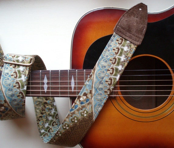 Handcrafted Guitar Strap - Stairway To Heaven