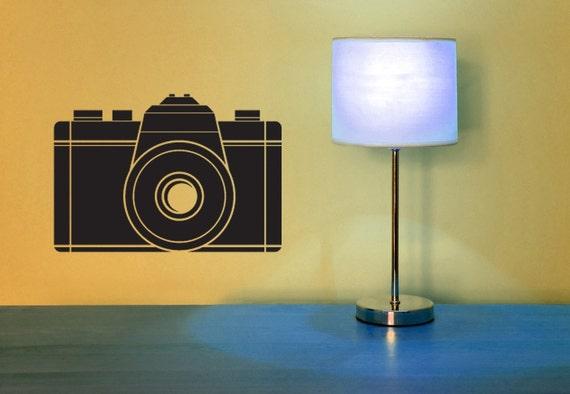 35 MM Camera - Vinyl Wall Art Decal