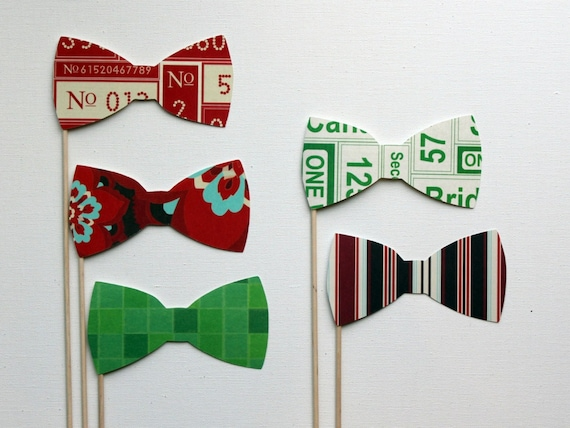 Big City and Bright Lights Bowties - Set of Five