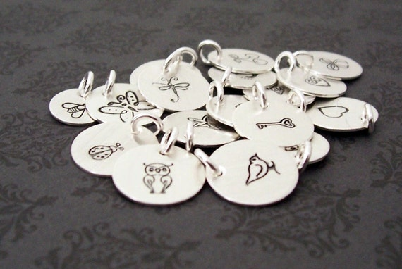 Custom Design Sterling Silver Disk - EWD Extras and Add Ons - Free USA Shipping