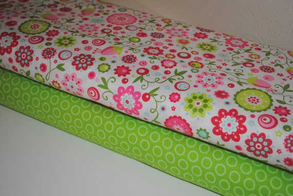 Quite Contrary Beautiful and Green Cheery Dots by Riley Blake 1/2 Yard set of 2