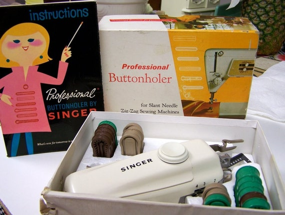 Vintage Button Holer