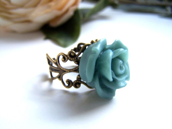 the teal ingrid ring.