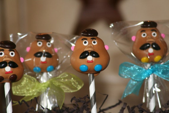 Toy Story Mr. Potato Head Cake Pops 1 Dozen