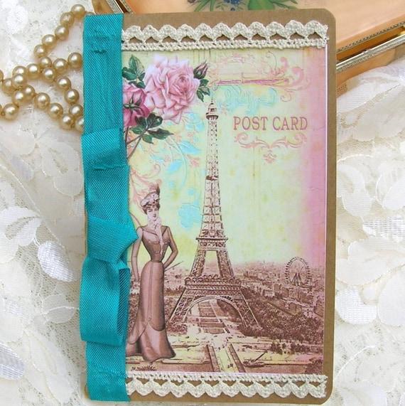 Французская открытка своими руками