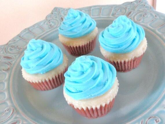 Blue Cupcake Soap
