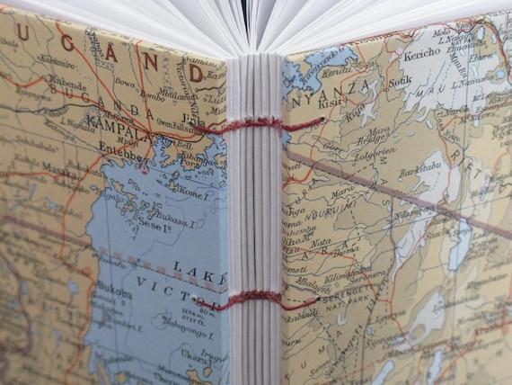 Tanzania Map Journal