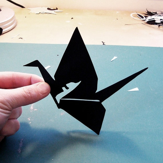 charm of the black cardboard. paper art by joe bagley (joe bagley)