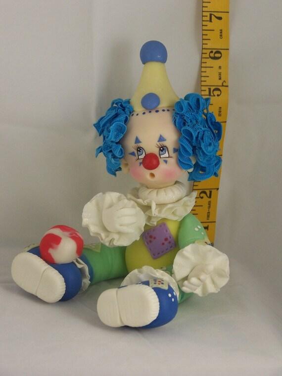 playful clown
