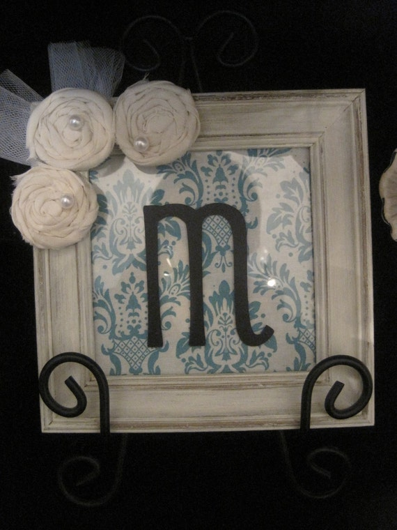 Shabby Distressed Personalized Frame