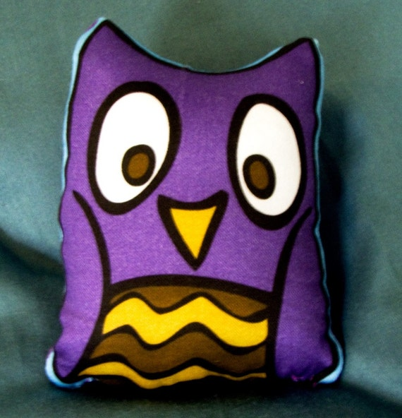 Small Night Owl Pillow