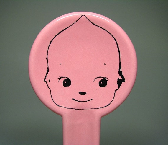 spoon rest kewpie cabeza (bubblegum) - Made to Order / Pick Your Colour
