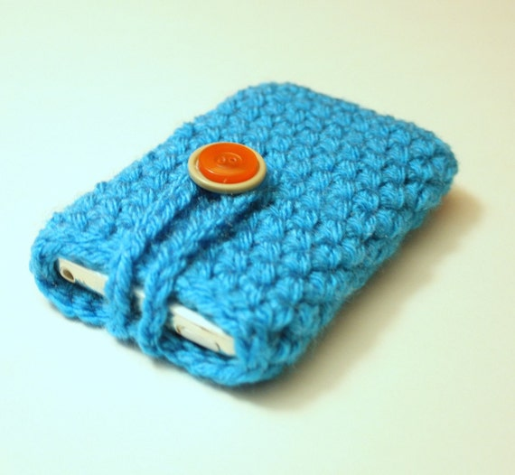 Crochet iPhone or iPod Cozy Slip Cover