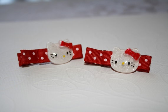 Hello Kitty Clippies-no slip