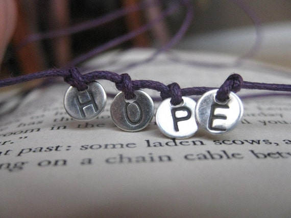 HOPE wrap around bracelet