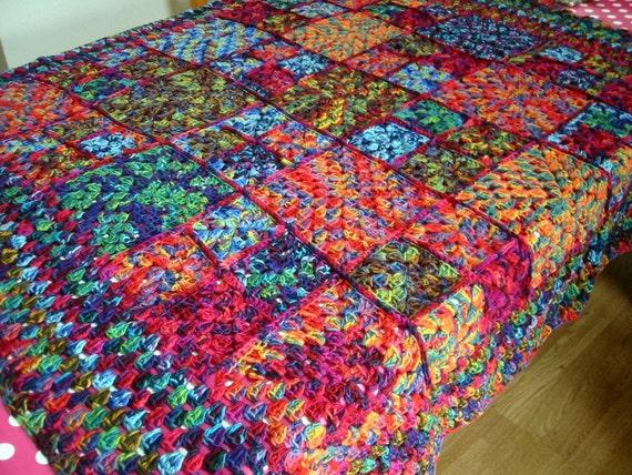 Mirasol Magic Granny Square Blanket