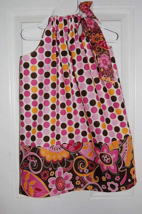 Handmade Pillowcase Dress Size 4T
