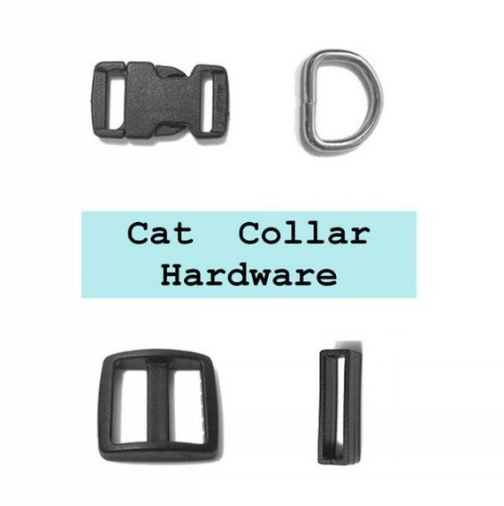 10 SETS, Cat Collar Kits, 3/8 inch, 40 Pieces, 9.5mm (set catA)