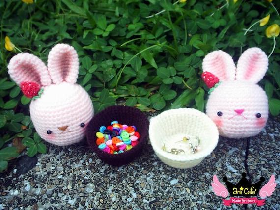 PDF Pattern - Bunny Cupcake