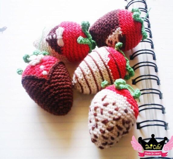 PDF Pattern - Strawberry Dipped