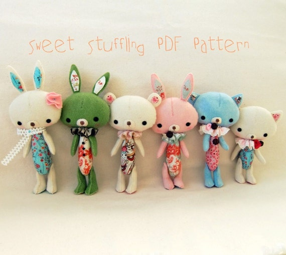 Sweet Stuffling PDF Pattern