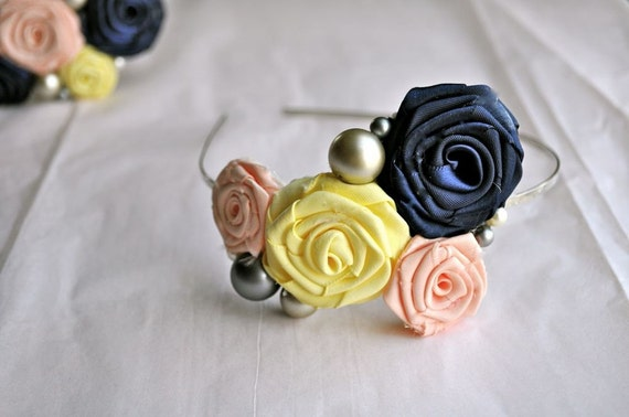 Colors of YOUR choice - CUSTOM Bridal Party Headbands