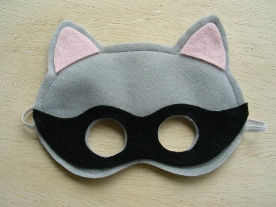 Raccoon Mask for children