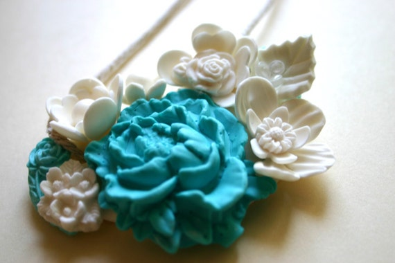 Edible Candy Necklace Turquoise