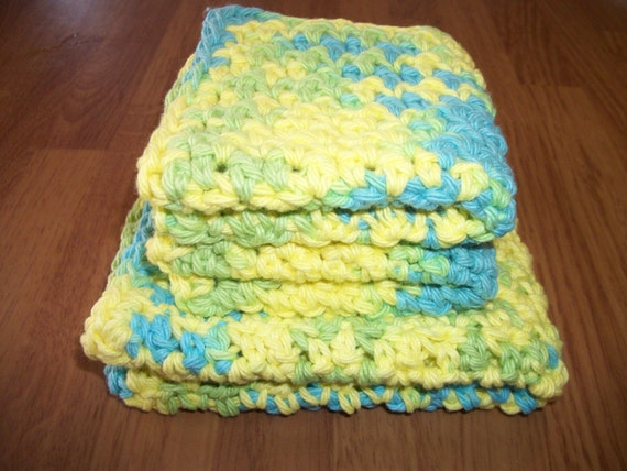 Summer Splash - Cobblestone Cloths Set of 3