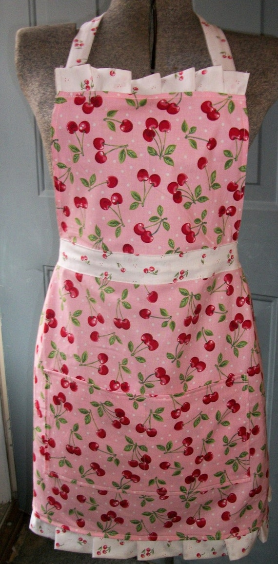 Ginny Apron - So Very Cherry