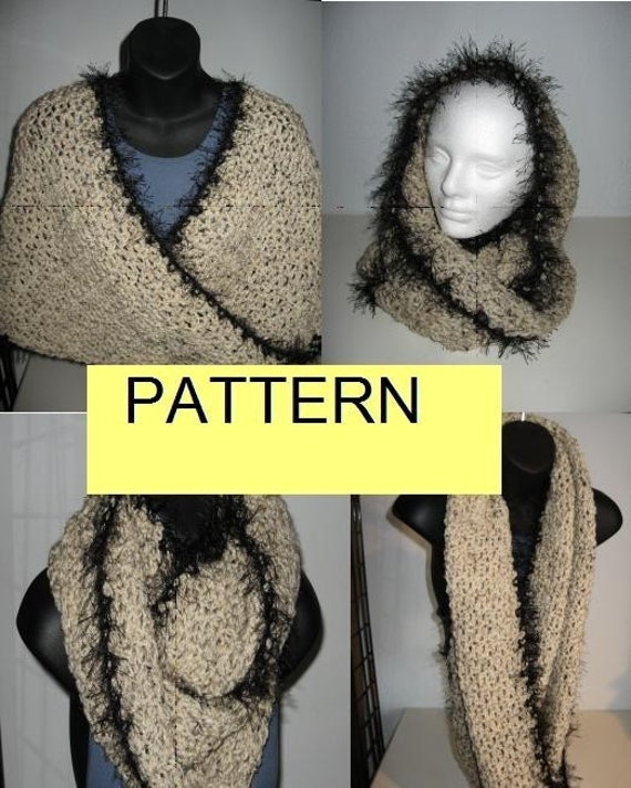 HOOD SCARF CROCHET PATTERN ? Crochet For Beginners