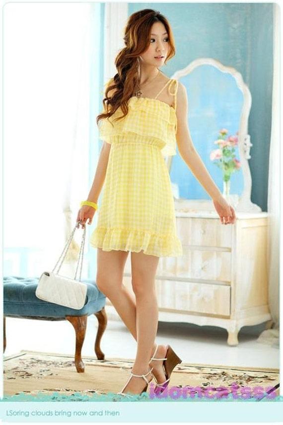 1Name : لباس شطرنجی زرد ناز 68