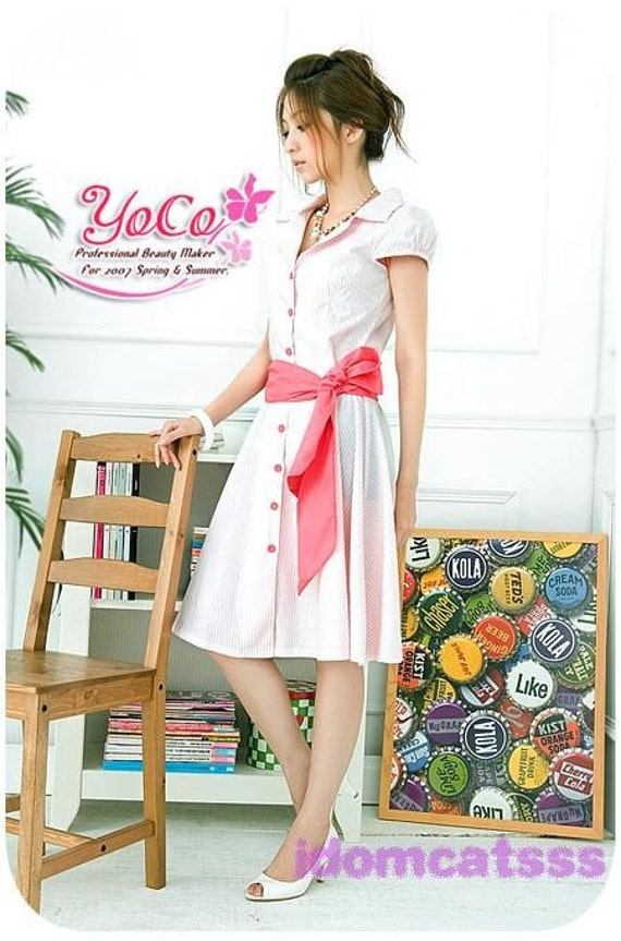1Name : لباس قرمز دکمه روبان 146