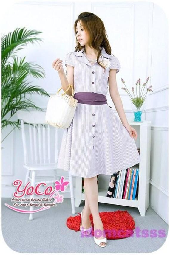 1Name : لباس بنفش دکمه روبان 148