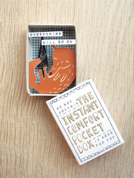 The Instant Comfort Pocket Box - fox