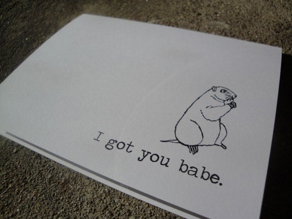 I got you babe - Greeting Card