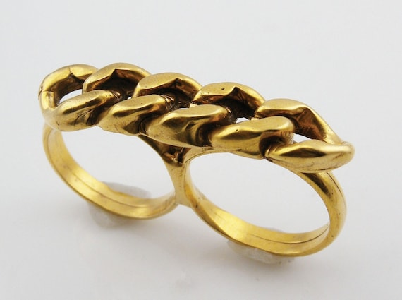 MOTHERS DAY SALE 30% Off   Cubani Link Chain Ring