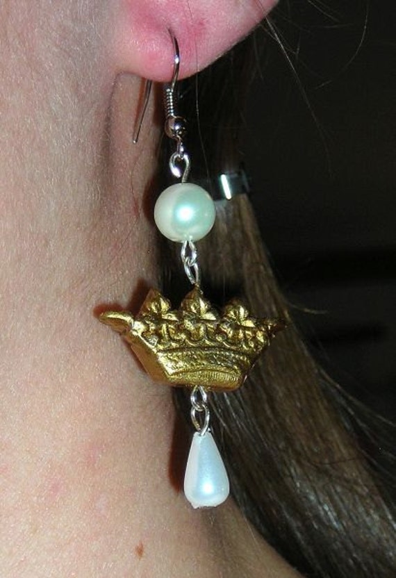 Hime Princess classic sweet crown with pearls earrings NOW AVAILABLE in more COLORS