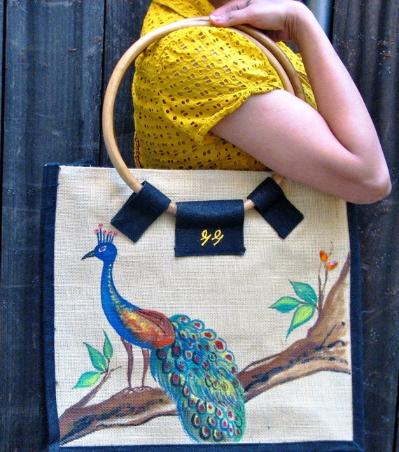 Peacock Ecofriendly Shopping Bag