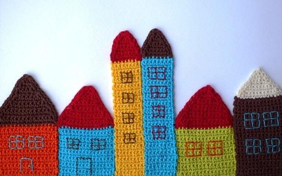 Счастливые Подставки Village и закладки или уникальное искусство Ткань для ваших стен