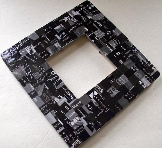 """Черный солодки Chunky Frame - для 3,5 """"х 3,5"""" Фото"""