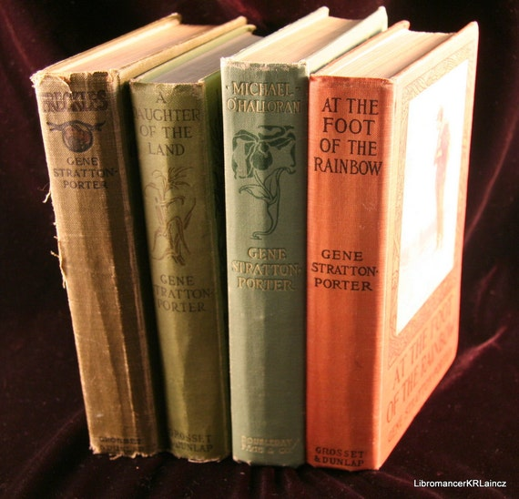Gene Stratton-Porter Vintage Book Collection