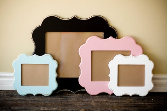20x24 whimsical and unique picture frame. Pick your style and color