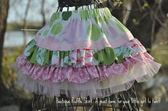 о вязании Вязаная юбочка для девочки