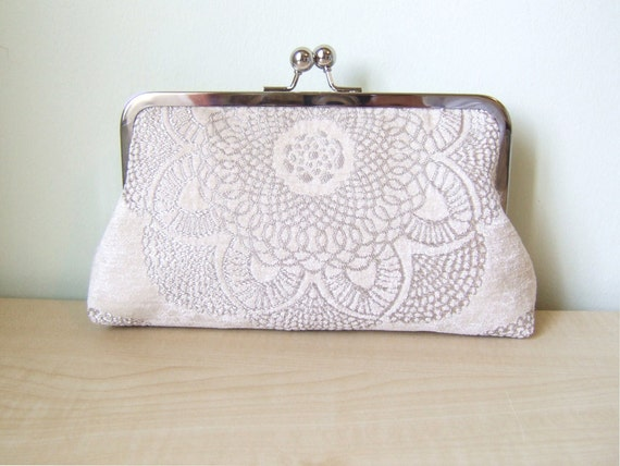 EllenVINTAGE Brocade Velvet CLUTCH Last one Ready to Ship